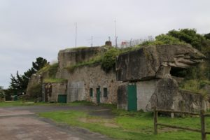 Cite D'Alet with WW2 German additions